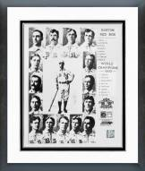 Boston Red Sox 1903 Red Sox Championship Framed Photo