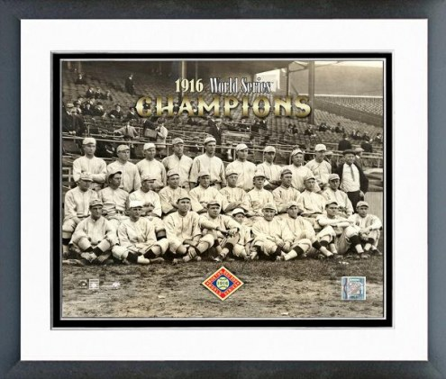 Boston Red Sox 1916 World Series Champion Framed Photo