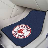 Boston Red Sox 2-Piece Carpet Car Mats