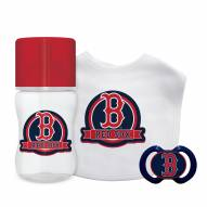 Boston Red Sox 3-Piece Baby Gift Set