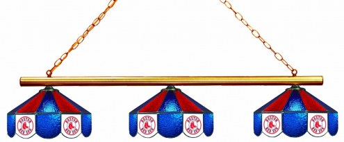 Boston Red Sox 3 Shade Pool Table Light