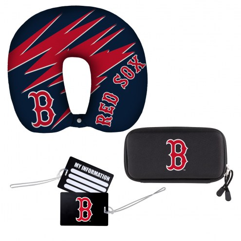 Boston Red Sox 4 Piece Travel Set