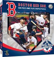 Boston Red Sox 500 Piece Home Plate Shaped Puzzle