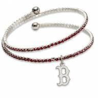 Boston Red Sox Amped Logo Crystal Bracelet