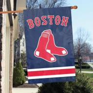 Boston Red Sox Applique 2-Sided Banner Flag