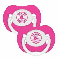 Boston Red Sox Pacifiers - 2 Pack