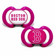 Boston Red Sox Baby Pacifier 2-Pack