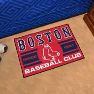 Boston Red Sox Baseball Club Starter Rug