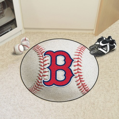 Boston Red Sox Baseball Rug