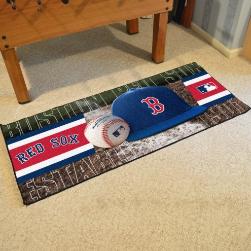 Boston Red Sox Baseball Runner Rug