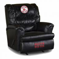 Boston Red Sox Big Daddy Leather Recliner