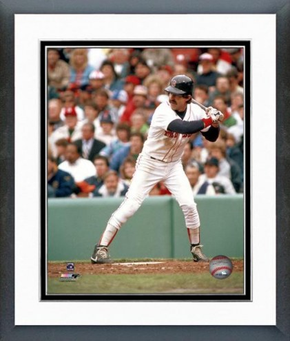 Boston Red Sox Bill Buckner Batting Framed Photo