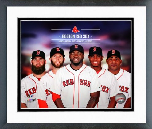 Boston Red Sox Boston Red Sox Team Composite Framed Photo