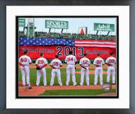 Boston Red Sox Boston Red Sox World Series Ring Ceremony Framed Photo