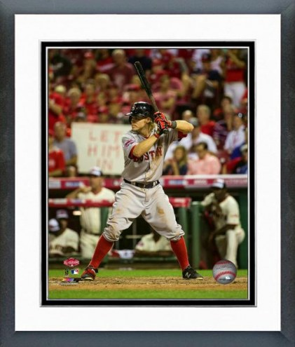 Boston Red Sox Brock Holt All-Star Game Action Framed Photo