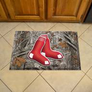 Boston Red Sox Camo Scraper Door Mat