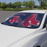 Boston Red Sox Car Sun Shade