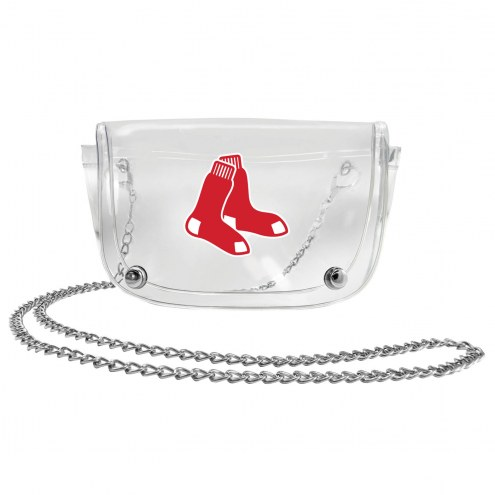 Boston Red Sox Clear Waistpack