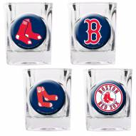 Boston Red Sox Collector's Shot Glass Set