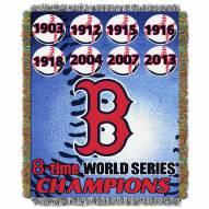 Boston Red Sox Commemorative Throw Blanket