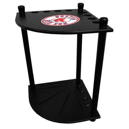 Boston Red Sox Corner Pool Cue Rack