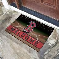 Boston Red Sox Crumb Rubber Door Mat