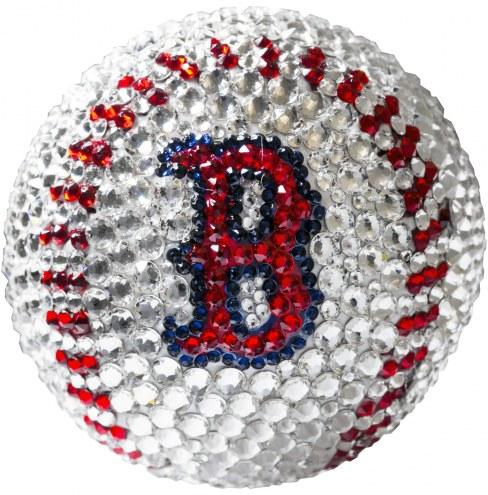 Boston Red Sox Swarovski Crystal Baseball