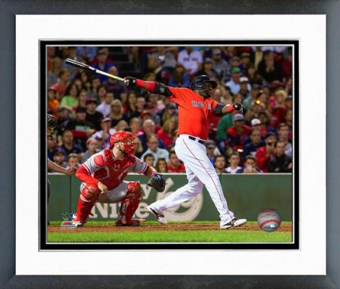 Boston Red Sox David Ortiz Action Framed Photo