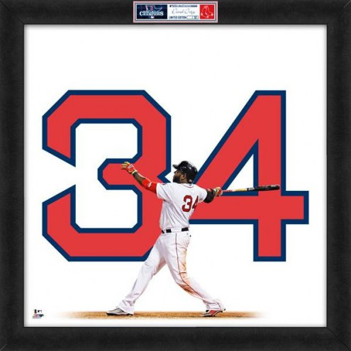 Boston Red Sox David Ortiz World Series Uniframe Framed Jersey Photo