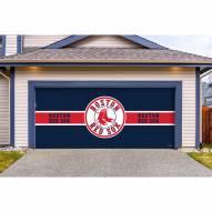 Boston Red Sox Double Garage Door Cover