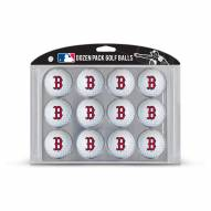 Boston Red Sox Dozen Golf Balls