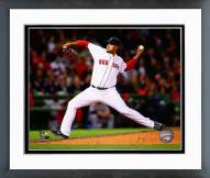 Boston Red Sox Felix Doubront Action Framed Photo
