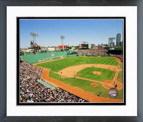 Boston Red Sox Fenway Park New Seats Framed Photo