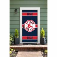 Boston Red Sox Front Door Cover