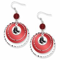 Boston Red Sox Game Day Earrings