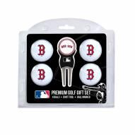 Boston Red Sox Golf Ball Gift Set