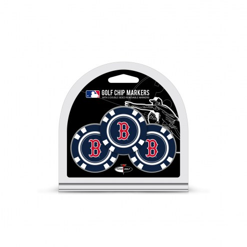 Boston Red Sox Golf Chip Ball Markers