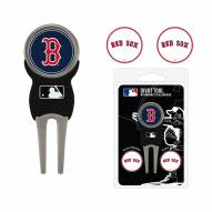 Boston Red Sox Golf Divot Tool Pack