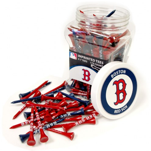 Boston Red Sox 175 Golf Tee Jar
