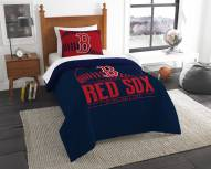 Boston Red Sox Grand Slam Twin Comforter Set