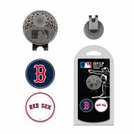 Boston Red Sox Hat Clip & Marker Set