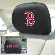 Boston Red Sox Headrest Covers