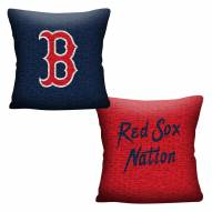 Boston Red Sox Invert Woven Pillow