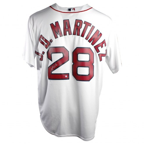 Boston Red Sox JD Martinez Signed Cool Base Replica Home Jersey