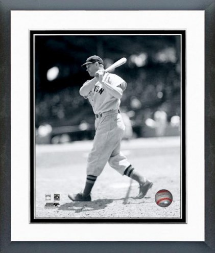 Boston Red Sox Jimmie Foxx posed with bat Framed Photo