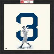 Boston Red Sox Jimmie Foxx Uniframe Framed Jersey Photo