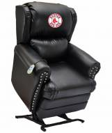 Boston Red Sox Leather Coach Lift Recliner