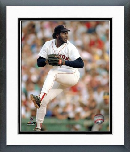 Boston Red Sox Lee Smith Action Framed Photo