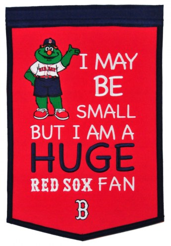 Boston Red Sox Lil Fan Traditions Banner