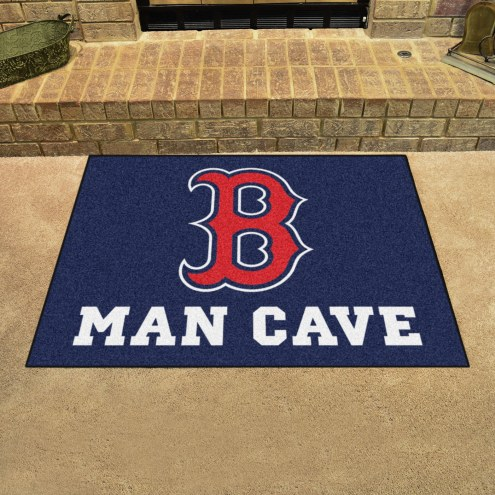 Boston Red Sox Man Cave All-Star Rug